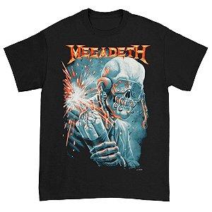 Camiseta Básica Banda Heavy Metal Megadeth Dynamite