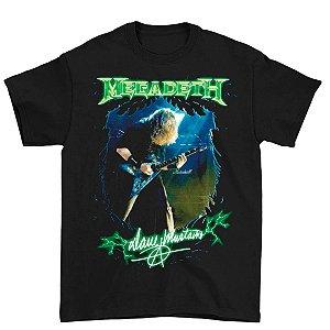 Camiseta Básica Banda Heavy Metal Megadeth