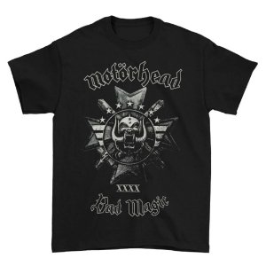 Camiseta Básica Banda Heavy Metal Motörhead Bad Magic