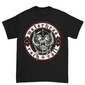 Camiseta Básica Banda Heavy Metal Motörhead Biker Badge