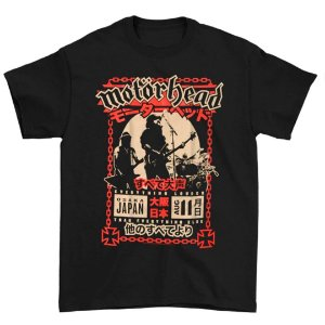 Camiseta Básica Banda Heavy Metal Motörhead Loud In Osaka