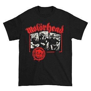 Camiseta Básica Banda Heavy Metal Motörhead