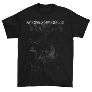 Camiseta Básica Banda Heavy Metal Avenged Sevenfold AVS In Your Face