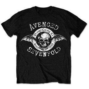Camiseta Básica Banda Heavy Metal Avenged Sevenfold Origins