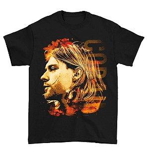 Camiseta Básica Banda Rock Nirvana Kurt Cobain