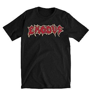 Camiseta Básica Banda Thrash Metal Exodus Metal Command