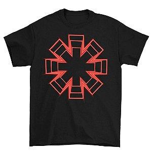 Camiseta Básica Banda Rock Red Hot Chili Peppers Live Floor