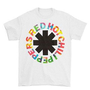 Camiseta Básica Banda Rock Red Hot Chili Peppers Overdye