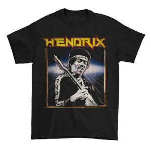 Camiseta Básica Lendas Do Rock  Cantor Jimi Hendrix