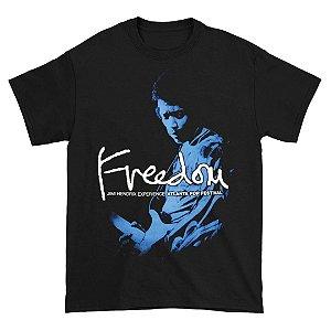 Camiseta Básica Lendas Do Rock Cantor Jimi Hendrix Atlanta Pop