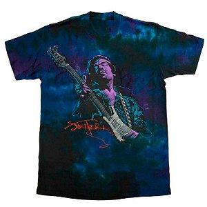 Camiseta 3d Full Lendas Do Rock Jimi Hendrix Soul Power