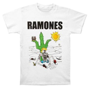Camiseta Básica Banda Rock Ramones Loco Live