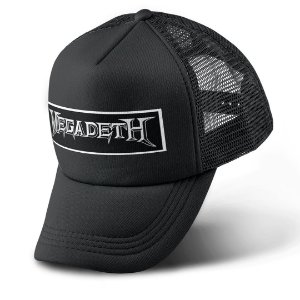 Boné Trucker Com Telinha Banda Heavy Metal Megadeth