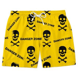 Bermuda Short Praia Danger Zone