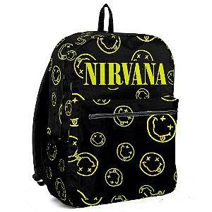 Mochila Bolsa Cantor Rock Banda Nirvana