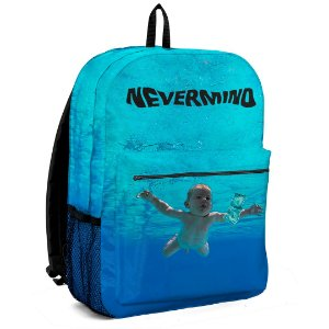 Mochila Bolsa Band Rock Nirvana Nevermind
