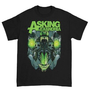 Camiseta Básica Banda Post-hardcore Asking Alexandria TSth Slim Fit