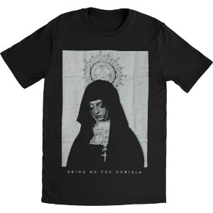 Camiseta Básica Banda Post-Hardcore Bring Me The Horizon Nun