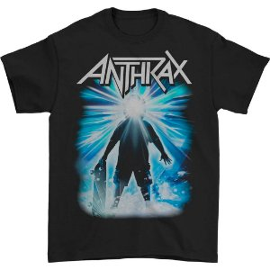 Camiseta Básica Banda Heavy Metal Anthrax The NOT Thing