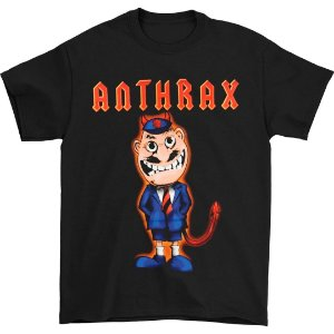 Camiseta Básica Banda Heavy Metal Anthrax TNT