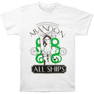 Camiseta Básica Banda Post-Hardcore Abandon All Ships Cobra