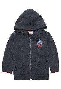 jaqueta de moleton milon menino