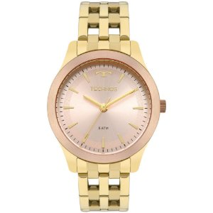 Relógio Technos Dourado Feminino Elegance Dress 2035mpm/5t