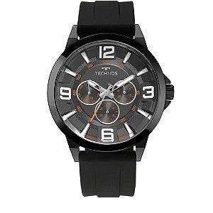 Relógio Technos Racer Preto 6p79bn/8p Pulseira de silicone