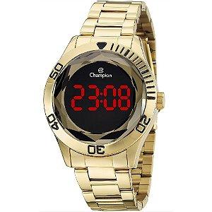 Relógio Unissex Champion Digital CH48073H - Dourado