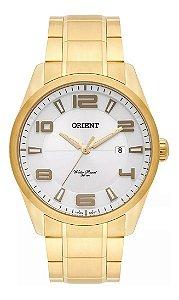 Relógio Orient Masculino Dourado Mgss1131 S2kk