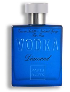 Perfume Vodka Diamond EDT Paris Elysees -  100ml