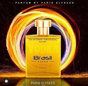 Perfume Vodka Brasil Amarelo EDT Paris Elysees -  100ml