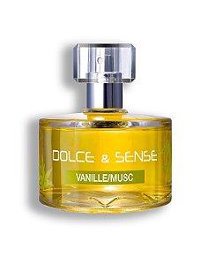 Perfume Dolce & Sense VANILLE / MUSC EDP Paris Elysees - 60ML