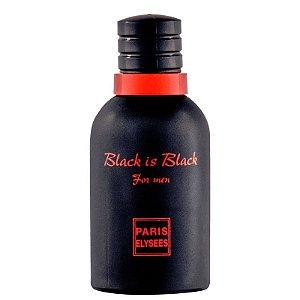 Perfume Black is Black For Men EDT 100ml Paris Elysees