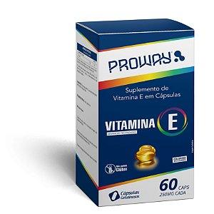Suplemento de Vitamina E 60caps 250mg