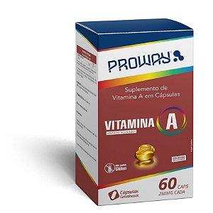 Suplemento De Vitamina A 60caps 250mg