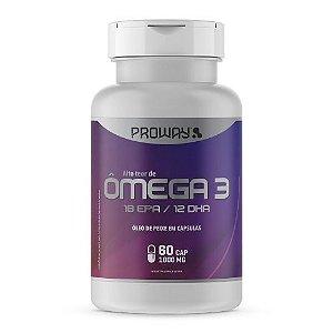 Ômega 3 (Oleo De Peixe 18epa/12dha) 60caps 1000mg