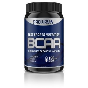 Bcaa 120 Caps 595mg