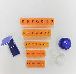 KIT porta comprimidos com cortador e macerador