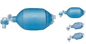Reanimador em PVC  com Alívio de Pressão em 40 cmH2O