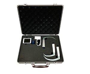 NOVO Vídeo laringoscópio reutilizável BESDATA  (Mac 3, Mac 4 e D-blade)