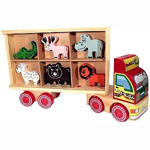 Caminhão de Madeira - Zootrans
