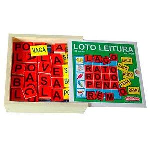 Loto Leitura - Jogo para Alfabetização