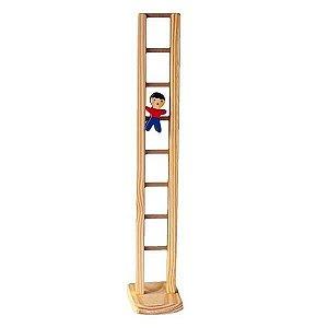 Mané na Escada de Madeira - Brinquedo Educativo com Movimento