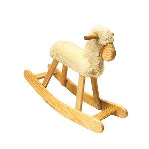 Carneiro de Balanço de Madeira - Brinquedo Educativo