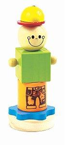 Bloco de Montar Joe - Brinquedo Educativo