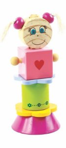 Bloco de Montar Nina - Brinquedo Educativo