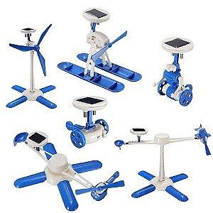Kit Solar 6 x 1 - Brinquedo Educativo
