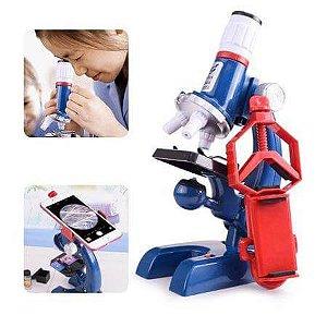 Microscópio Smart Infantil - Brinquedo Educativo