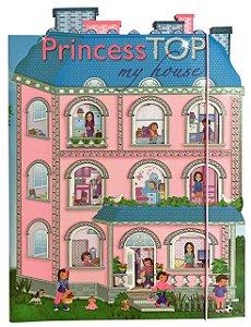 Livro de Atividades - Adesivos - Princess Top My House